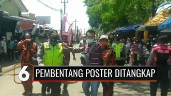 VIDEO: 2 Pemuda Diamankan saat Hendak Membentangkan Spanduk di Depan Rombongan Presiden