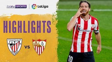 Berita video highglights Liga Spanyol, Athletic Bilbao berhasil balikan kemenangan atas Sevilla 2-1