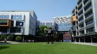 Kantor Alibaba Group di Distrik Binjiang, Hangzhou, Tiongkok. (Liputan6.com/Sunariyah)
