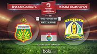 Bhayangkara FC Vs Persiba Balikpapan (Bola.com/Adreanus Titus)