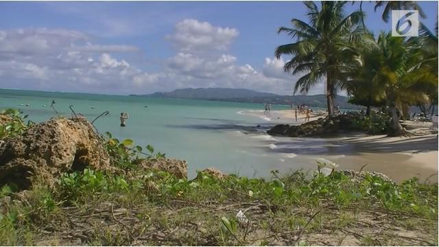 Sepasang suami istri mengeluhkan gatal-gatal pada bokong mereka. Keduanya baru saja bersantai di Pantai Karibia.