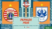 Shopee Liga 1 - Persija Jakarta Vs PSIS Semarang (Bola.com/Adreanus Titus)