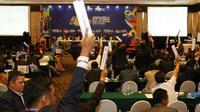 Kongres Luar Biasa PSSI di Hotel Mercure Ancol, Rabu (3/8/2016). (Bola.com/NIcklas Hanoatubun)