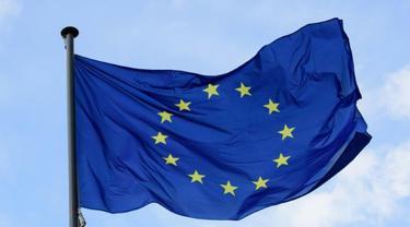Ilustrasi bendera Uni Eropa (AFP Photo)