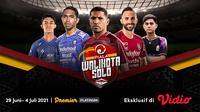 Saksikan Live Streaming Piala Walikota Solo 2021 Eksklusif di Vidio Mulai Pekan Depan. (Sumber : dok. vidio.com)