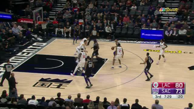 Berita video game recap NBA 2017-2018 antara LA Clippers melawan Sacramento Kings dengan skor 121-115.