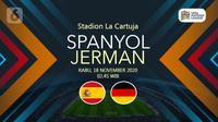 Spanyol vs Jerman (Liputan6.com/Abdillah)