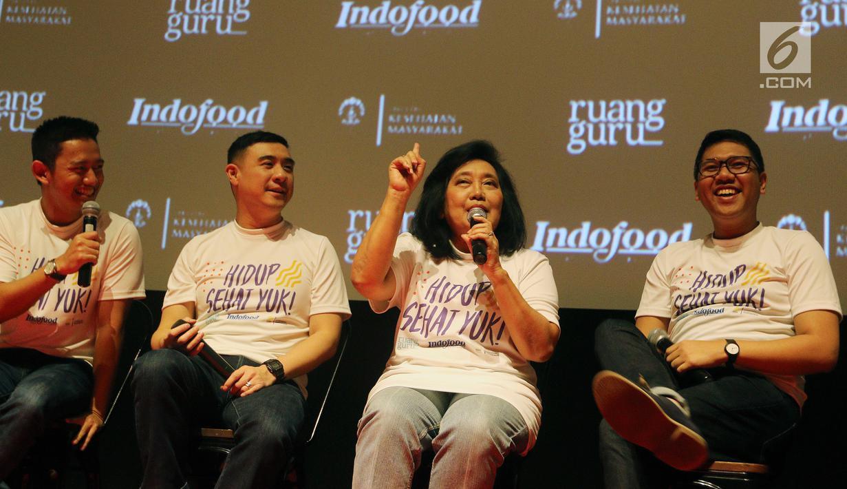 Foto Gandeng Ruangguru Dan Fkm Ui Indofood Luncurkan Program Hidup Sehat Health Liputan6 Com