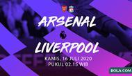Premier League - Arsenal vs Liverpool. (Bola.com/Adreanus Titus)