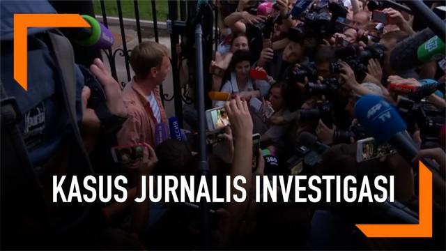 Otoritas Rusia membebaskan seorang jurnalis investigasi Ivan Golunov hari Selasa (11/6). Semua tuduhan terkait kepemilikan narkoba kepada Ivan pun dicabut.