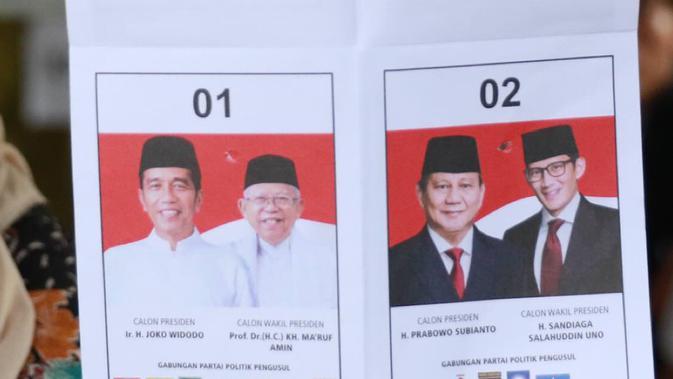 Jokowi-Amin Unggul di TPS Pasien Gangguan Jiwa di Manado
