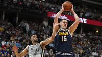 Triple Double Nikola Jokic (NO 15)  Kirim Nuggets ke Semifinal Wilayah Barat NBA (AP)