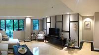 Ruang keluarga apartemen karya SASO Architecture Studio. (dok. Arsitag.com/Dinny Mutiah)