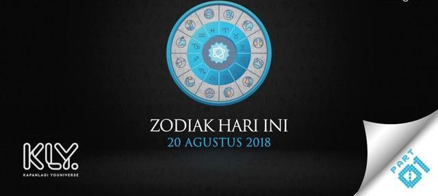 Video Zodiak Hari Ini: Simak Peruntungan Kamu di 20 Agustus 2018 Part 1