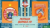 Shopee Liga 1 2019: Persija Jakarta vs Pusamania Borneo FC. (Bola.com/Dody Iryawan)
