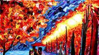 Seniman ini tak bisa melihat namun mampu menghasilkan lukisan yang menakjubkan. Foto: Brightside.me