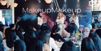 Tutorial Makeup Bersama Cathy Sharon dan Soraya Hylmi di Makeup Makeup by: Bintang.com