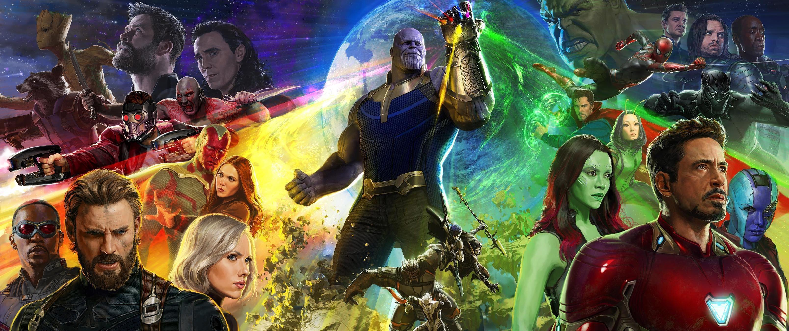 Poster resmi Avengers: Infinity War. (Marvel)