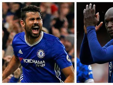 Tidak mudah tentunya bagi seorang striker menjalani debut bersama tim besar seperti Chelsea di Liga Inggris. Ekspektasi besar kadang malahan menjadi beban untuk tampil maksimal. Berikut 5 striker yang mampu menjawab ekspektasi tersebut dengan gol di laga debutnya. (Foto: Kolase AFP)