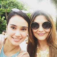 Feby Febiola dan Tamara Bleszynski (Instagram/@febyfebiola)