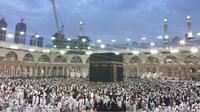 Kakbah, Mekah, Arab Saudi (Liputan6.com/ Taufiqurrohman)