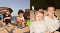 Potret Kompak Anak Fandy Christian dan Dahlia Poland. (Sumber: Instagram.com/dahliachr)