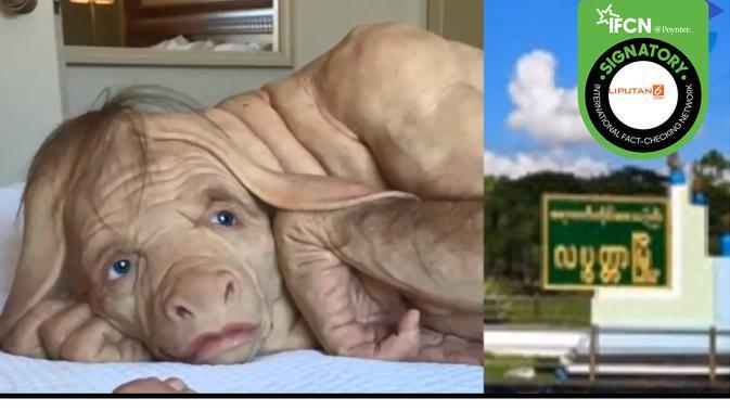 Hoaks wanita menjadi anjing karena durhaka sama ibunya. (Facebook)