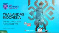 Piala AFF 2018 Thailand Vs Indonesia (Bola.com/Adreanus Titus)