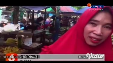Harga kebutuhan pokok di pasar tradisional di berbagai daerah di Jawa Timur, terus merangkak naik jelang Natal dan Tahun Baru. Di Sidoarjo, kenaikan signifikan terjadi pada jenis bawah merang merah yang mencapai belasan ribu rupiah per kilogramnya.