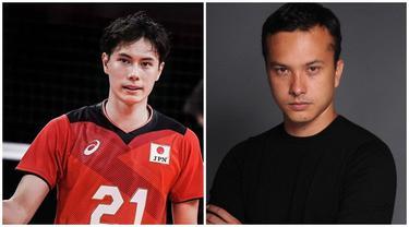 7 Pesona Ran Takahashi, Atlet Voli Asal Jepang yang Disebut Mirip Nicholas Saputra