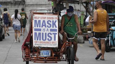 Infeksi Virus Corona di Filipina Tembus 1 Juta Kasus