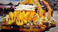 Pada 8-12 Agustus 2016 nanti, dunia bakal menyaksikan warna-warni ratusan ribu kuntum bunga dalam Tomohon International Festival Flower. (Yoseph Ikanubun)