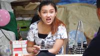 Syuting film komedi untuk sosialisasi Covid-19 di Kapanewonan Playen, Kabupaten Gunungkidul. (Foto: Liputan6.com/Hendro Ary Wibowo)
