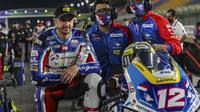 Pembalap Pertamina Mandalika SAG Team, Tom Luthi pada balapan Moto2 Doha. (Pertamina Mandalika SAG Team)