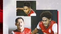 Braif Fatari, Alfriyanto Nico dan Taufik Hidayat. (Bola.com/Dody Iryawan)