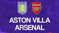 Liga Inggris: Aston Villa Vs Arsenal. (Bola.com/Dody Iryawan)
