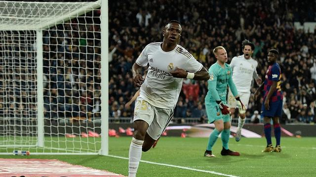 Winger Real Madrid, Vinicius Junior.