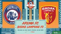 Shopee Liga 1 - Arema FC Vs Badak Lampung FC (Bola.com/Adreanus Titus)