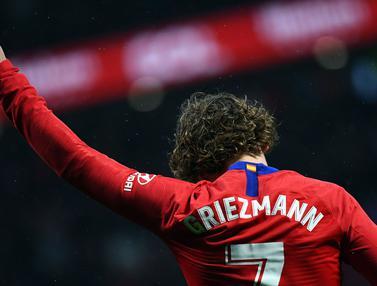 Aksi Antoine Griezmann yang Akan Hengkang dari Atletico Madrid