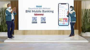 Tampil Beda, BNI Hadirkan New BNI Mobile Banking di HUT ke-75