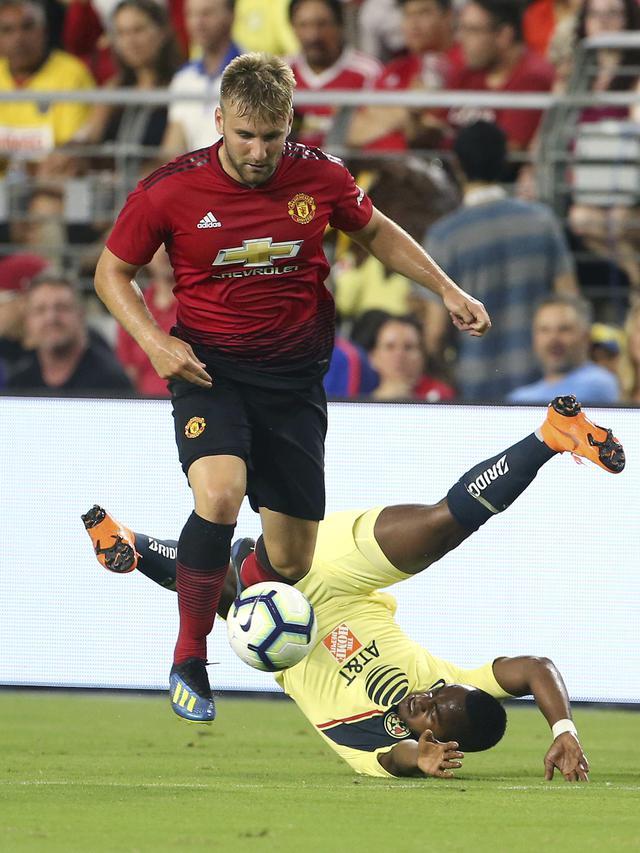 Manchester United, Club America, Laga Uji Coba