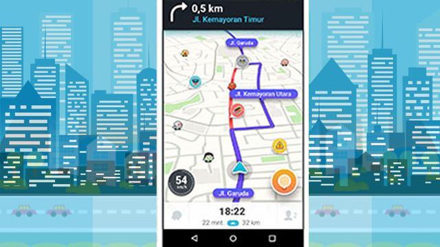Begini Cara Pantau Rute Ganjil Genap via Waze - Tekno Liputan6 com