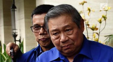 Ketua Umum Partai Demokrat Susilo Bambang Yudhoyono (SBY) batal bertemu Ketua Umum Partai Gerindra, Prabowo Subianto. Pertemuan itu harus ditunda karena SBY tengah menjalani perawatan di Rumah Sakit Pusat Angkatan Darat (RSPAD).
