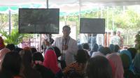 Dokter Ocvtavianus Wahyu menyampaikan info pentingnya tes IVA untuk pencegahan kanker serviks.