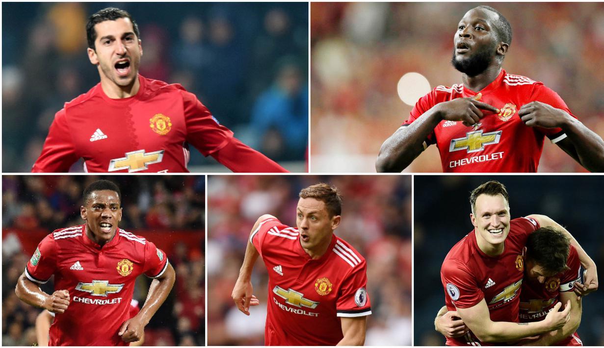 FOTO 5 Pemain Terbaik Manchester United Musim Ini Inggris