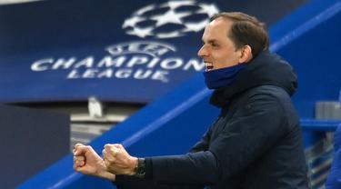 FOTO: 6 Fakta Menarik di Balik Kemenangan 2-0 Chelsea atas Real Madrid - Thomas Tuchel