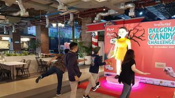 Tarik Pengunjung, Sebuah Mal di Tangerang Hadirkan Boneka Squid Game