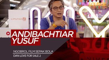 Berita video sutradara dan penganut sepak bola, Andibachtiar Yusuf, mengaku lebih sulit membuat film sepak bola dibanding yang bertema romansa di KLY Lounge.