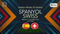 Spanyol vs Swiss (Liputan6.com/Abdillah)