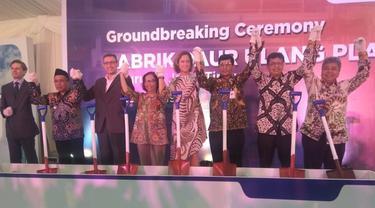Veolia Services Indonesia membangun pabrik daur ulang dan pemrosesan ulang botol yang berlokasi di Kabupaten Pasuruan, Jawa Timur.